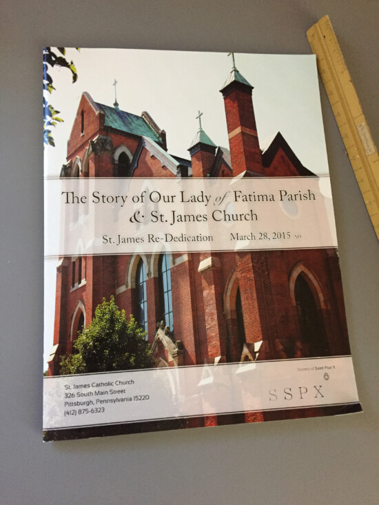 St. James Parish Re-Dedication Book